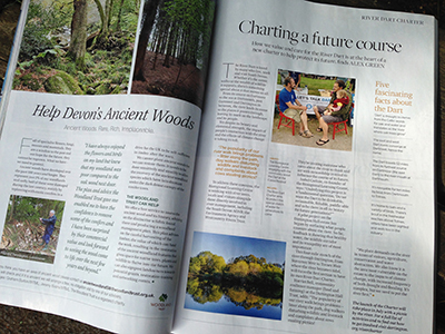 Page 91, June issue of Devon Life